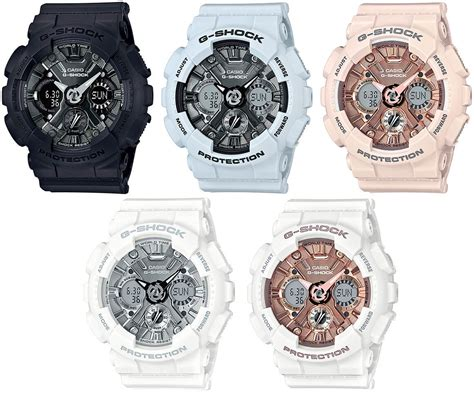 Casio G Shock Gma S110cm 7a2dr g shock gma s120mf metallic new s series g