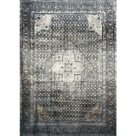 7 X 8 Area Rugs Nuloom Vintage Kellum Blue 5 Ft 3 In X 7 Ft 8 In Area Rug Owtc02a 53078 The Home Depot