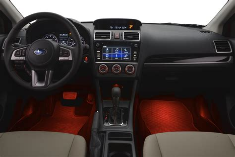 red subaru crosstrek interior 2016 subaru crosstrek interior illumination kit red