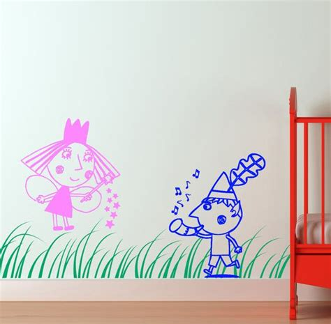 Ben And Holly Wall Stickers 32 best images about ben amp holly s little kingdom playroom