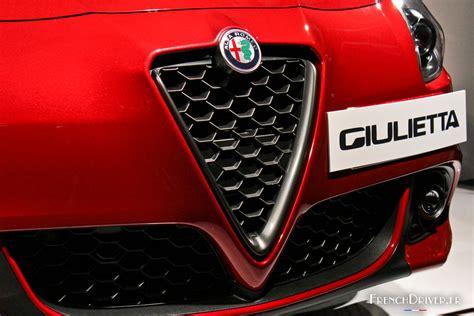 nouvelle alfa romeo giulietta  leger lifting french driver