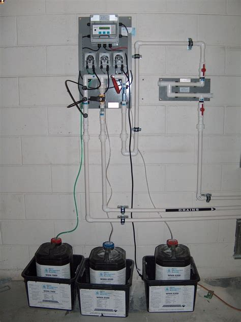 cooling tower chemical dosing control equipment water