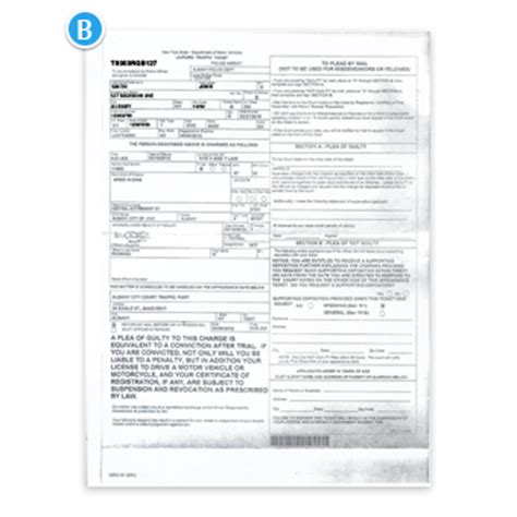 vtl section 1180 d anatomy of a new york traffic ticket