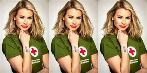 red cross to laud supermodel niki taylor niki taylor interview niki taylor talks american red