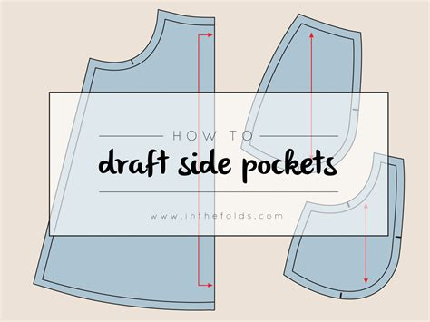 pattern drafting pockets pattern making in the folds