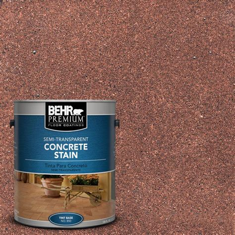 home depot paint for concrete behr premium 1 gal stc 32 chicory semi transparent