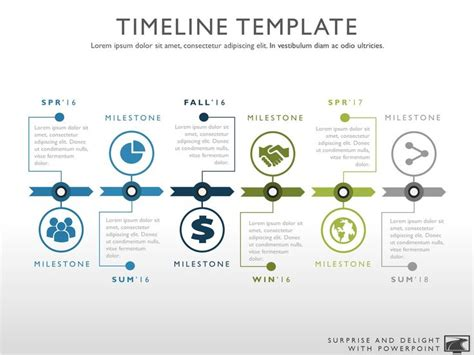 make a powerpoint template best 20 project timeline template ideas on