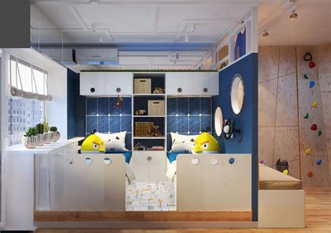 chambre pour enfant sur le theme de lespace