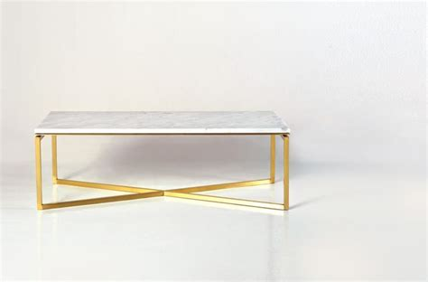 charming white coffee tables white marble gold base baguette coffee table brass leg in gold finish and white carrara marble top arc living