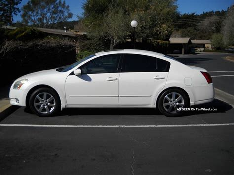 maxima nissan white 2006 nissan maxima sl sedan 4 door 3 5l white tinted