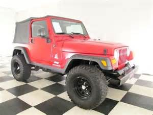 3 Inch Lift On Jeep Wrangler 2003 Used Jeep Wrangler 4x4 3 Inch Lift 31 Inch Tires
