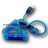 Converter Stik Ps To Usb convert stick psx sony to usb pad blue toko sigma