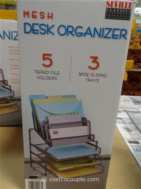 Seville Mesh Desk Organizer Costco Desk Organizer