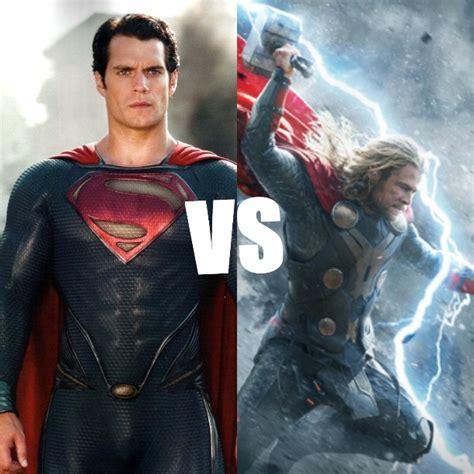 movie thor vs superman cav mcu thor asgaridanbrony vs dceu superman captain