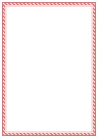 red candy stripe thin border  christmas hq