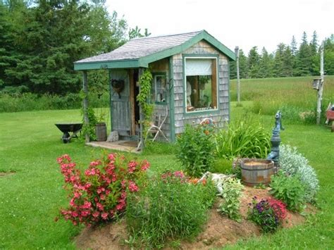 cottage garden sheds garden potting sheds