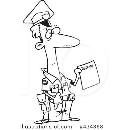Search Warrant Rights Warrant Clipart 12