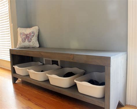 diy entryway bench with storage 26 diy storage bench ideas guide patterns