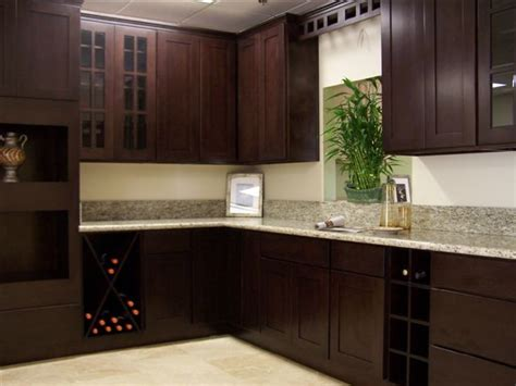 Espresso Cabinets Kitchen by Espresso Kitchen Cabinets Afreakatheart