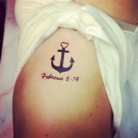 30 inspirational bible verse tattoos anchor tattoos