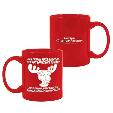 national loon s christmas vacation red moose mug