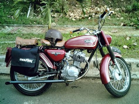 tampilan klasik  modifikasi motor honda cb variasi