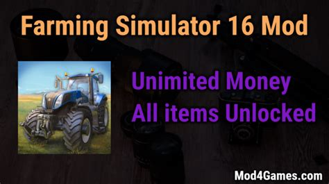 game hack mod offline farming simulator 16 hacked game mod apk free with offline