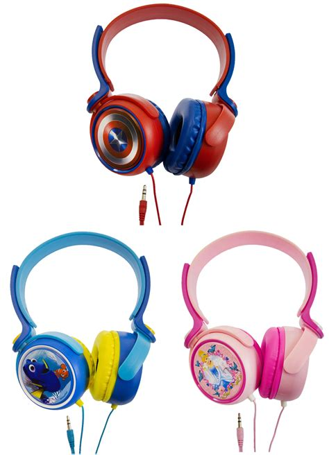 Headphone Kabel Disney Headphone Karakter character headphones adjustable boys earphones marvel disney size ebay