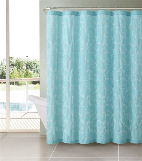 turquoise and beige curtains taupe beige brown caleb embroidered leaves fabric bathroom