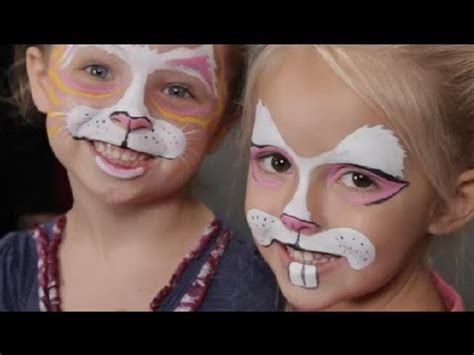 face painting  kids rabbits halloween costume tips