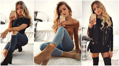 everyday outfits  boots outfit ideas  youtube