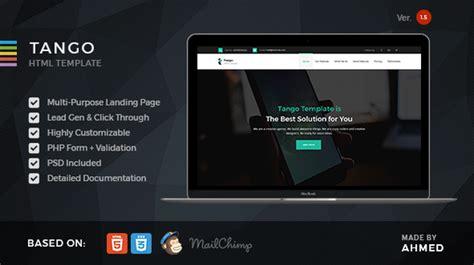 Babatox V1 3 Responsive Landing Page Theme responsive multi purpose landing page by morad themeforest