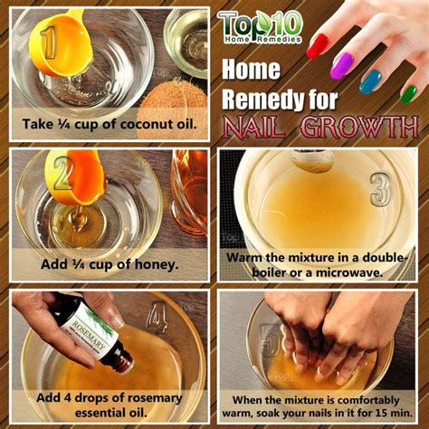 home remedies for nail growth nail growth and stronger nails