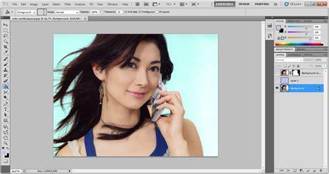 tutorial edit foto menggunakan photoshop cs5 cara seleksi rambut dengan adobe photoshop cs5 sotosop
