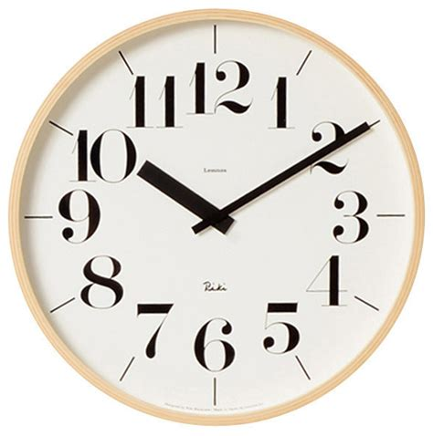Scandinavian Wall Clock | riki moderne clock scandinavian wall clocks by bungalo