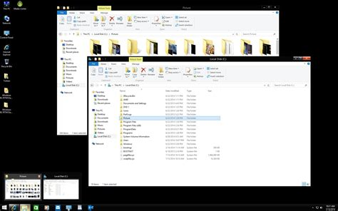 black theme for windows 8 1 with white titles windows 8 1 update1 rtm dark aero by nighthawk f22 on