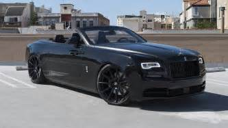 rolls royce convertible on forgiato capolavaro ecl