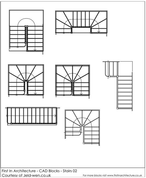 stairs floor plan symbol free cad blocks stairs first in architecture