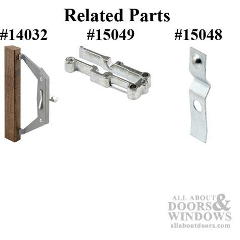 latch lever sliding glass door