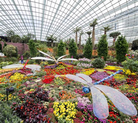 Dome Flowers gardens by the bay admission e ticket attractions xpress