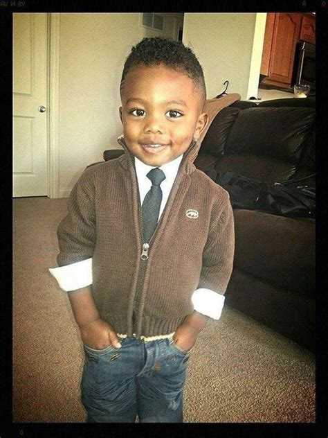 pictures of little boys with the gentlemens haircut awwww cute and beautiful black kids love handsome