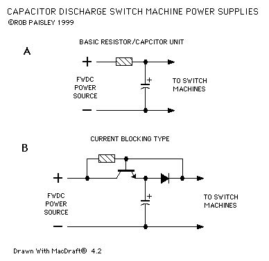 how to discharge capacitor in circuit basic coil switch machine power supplies power supply circuit circuit diagram seekic