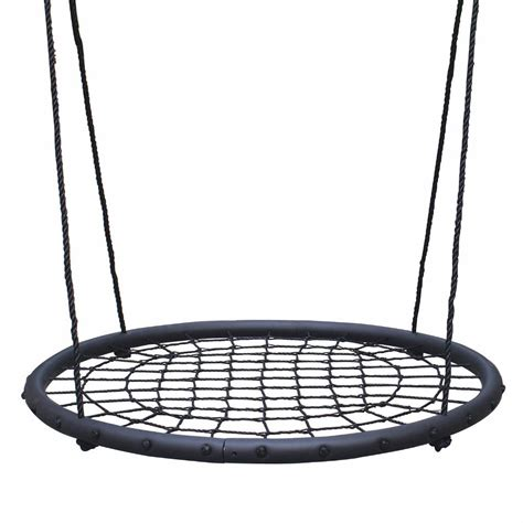 spider web swing new garden outdoor swings climbing rope ladder wooden