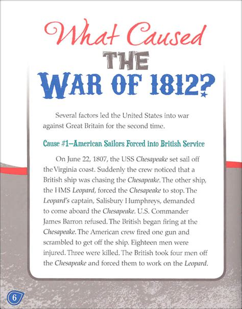 Causes Of War Of 1812 Essay by Causes Of The War Of 1812 Ghostwriterbooks X Fc2