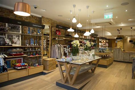 interior design store uk wrattens shop caf 233 by nugget design uk 187 retail