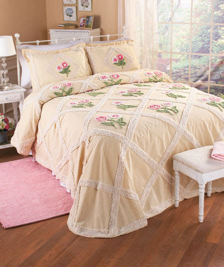 queen coverlets on sale diamond floral chenille bedspread bedding queen king size
