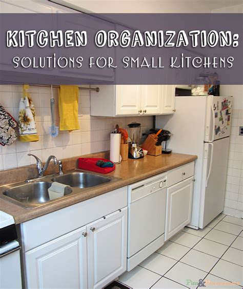 Kitchen Organization Solutions For Small Kitchens Pins Apartment Kitchen Organization Ideas