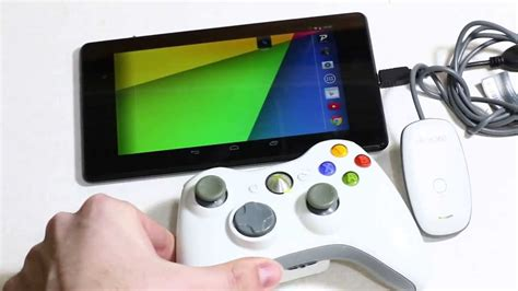 xbox 360 controller on android connect xbox 360 wireless controller to nexus 7 2013 kit android tablet