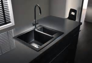 Modern Kitchen Sink Design Modern Minimalist Black Kitchen Sink Kitchenidease