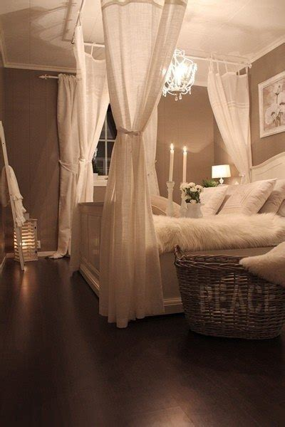 Drapes For Canopy Bed romantic bedroom on a budget the budget decorator
